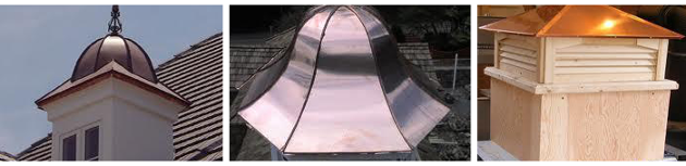 Copper Cupolas, Residential & Commercial Custom Roofing in Bensenville, IL