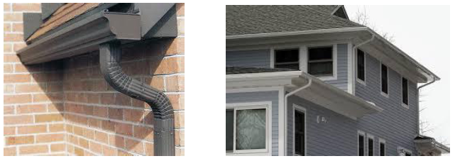 "5"" Aluminum K-Style Gutter Systems,  Gutter Systems & Accessories in Bensenville, Illinois"